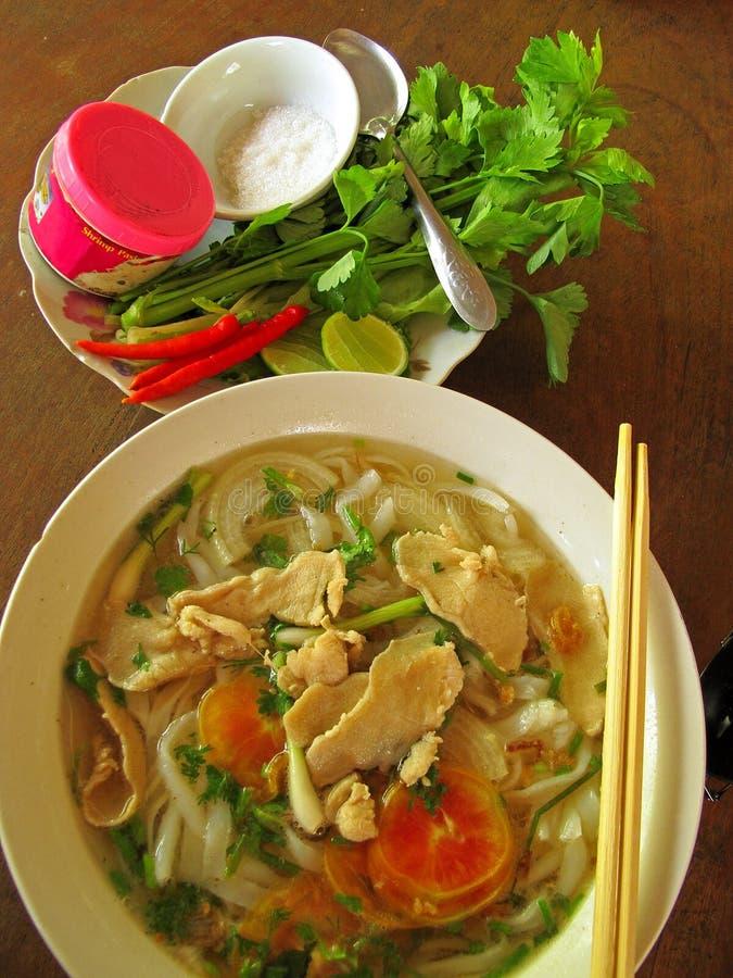 De Aziatische Soep van Pho Noudle royalty-vrije stock foto