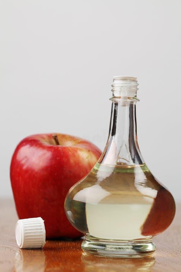 De azijn van de appel stock foto's