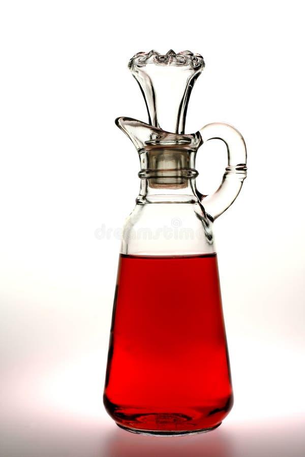 De Azijn van de rode Wijn royalty-vrije stock afbeelding