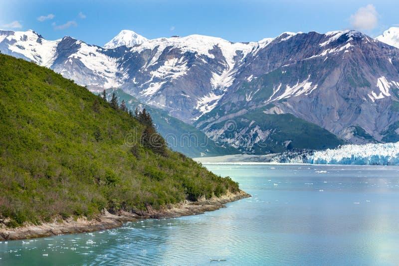 De Baai Alaska van de gletsjer royalty-vrije stock afbeelding
