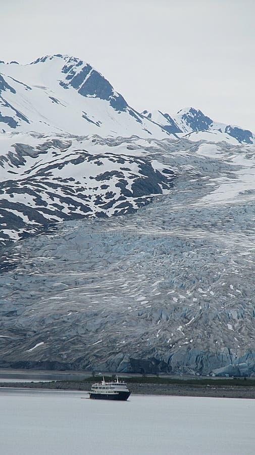 De Baai Alaska van de gletsjer royalty-vrije stock afbeeldingen
