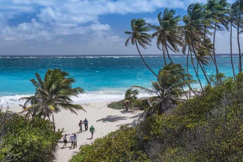 De Baai Barbados van de bodem royalty-vrije stock afbeeldingen