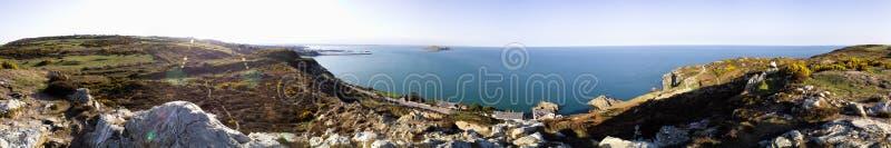 De baai Dublin Ierland van Howth stock foto