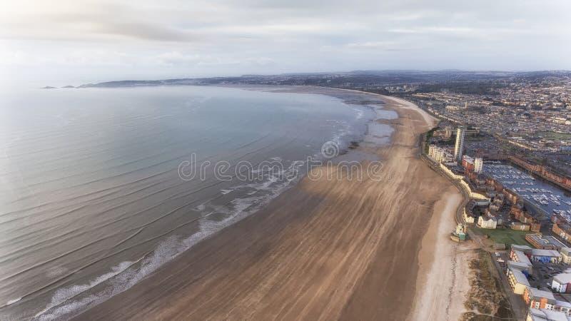 De Baai en Marina South Wales van Swansea royalty-vrije stock foto