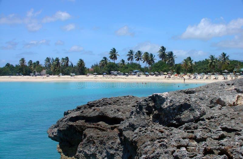 De Baai St Maarten van de verticale raamstijl stock foto