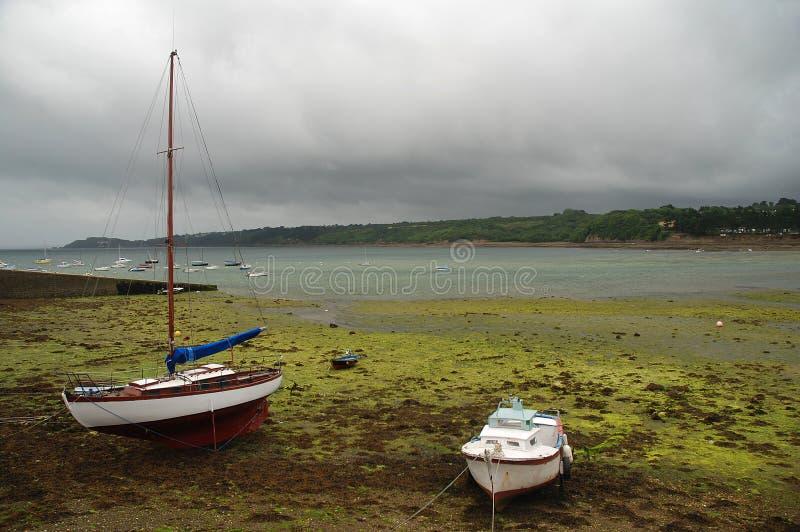 De Baai Van Brest, Bretagne, Frankrijk Royalty-vrije Stock Afbeeldingen