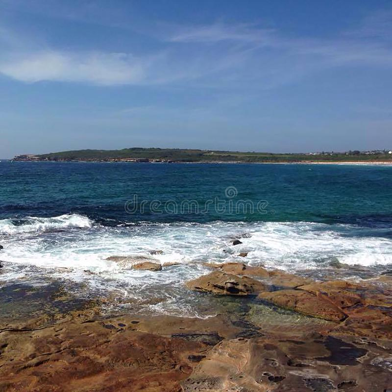 De Baai van Byron, Australië royalty-vrije stock foto's