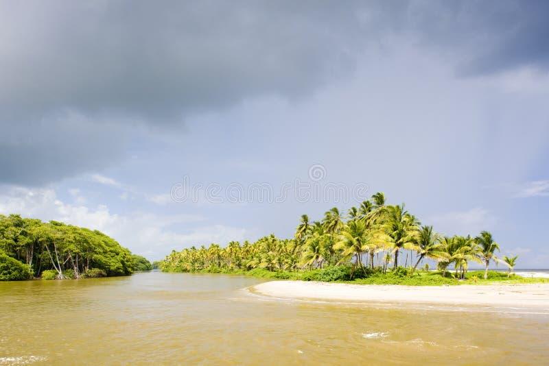 De Baai van Cocos stock foto's