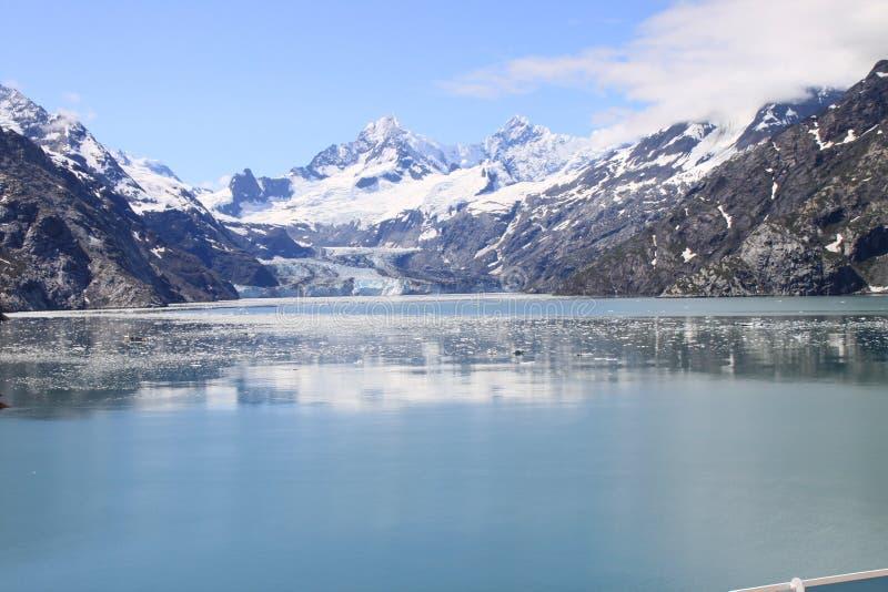 De Baai van de gletsjer stock afbeelding