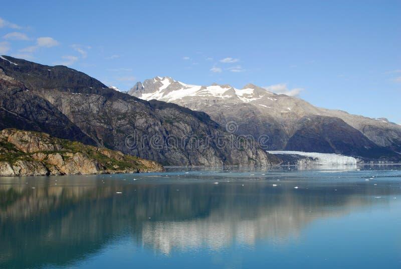 De Baai van de gletsjer stock afbeeldingen