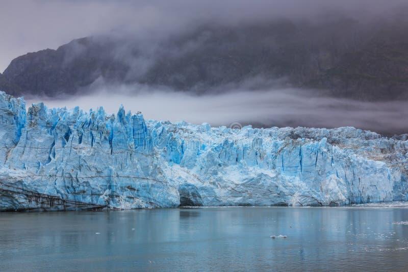 De Baai van de gletsjer, Alaska stock afbeelding