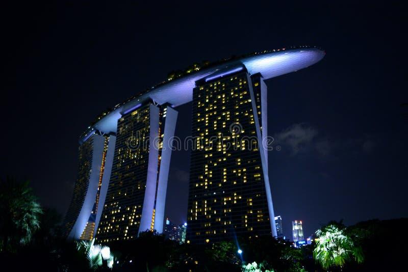 De Baai van de jachthaven, Singapore stock fotografie