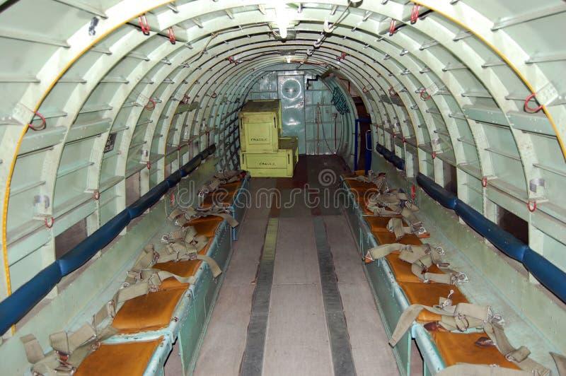 De Baai van de Lading van vliegtuigen royalty-vrije stock afbeeldingen