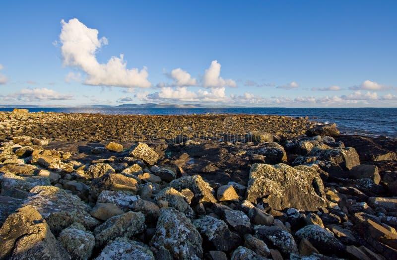 De Baai van Galway stock fotografie
