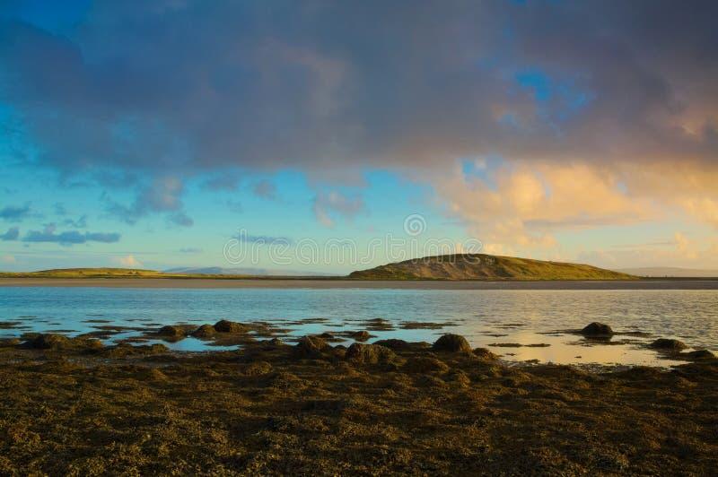 De Baai van Galway, Ierland stock foto's