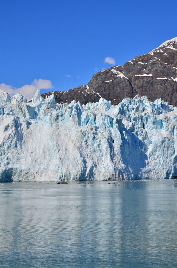 De Baai van de gletsjer in Alaska royalty-vrije stock foto