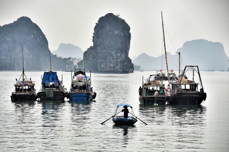De Baai van Halong royalty-vrije stock afbeeldingen