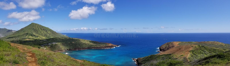 De Baai van Hanauma, Hawaï stock foto
