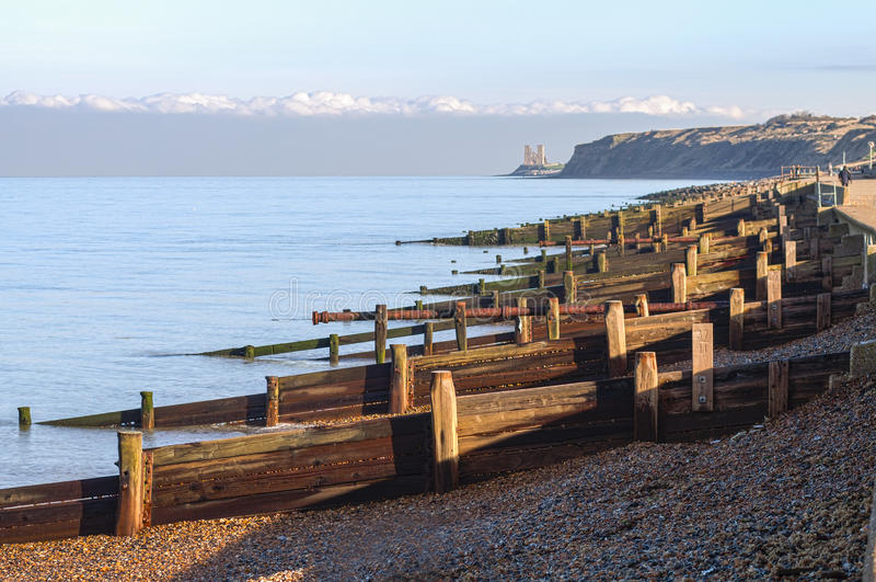 De Baai van Herne, Kent, het UK stock foto's
