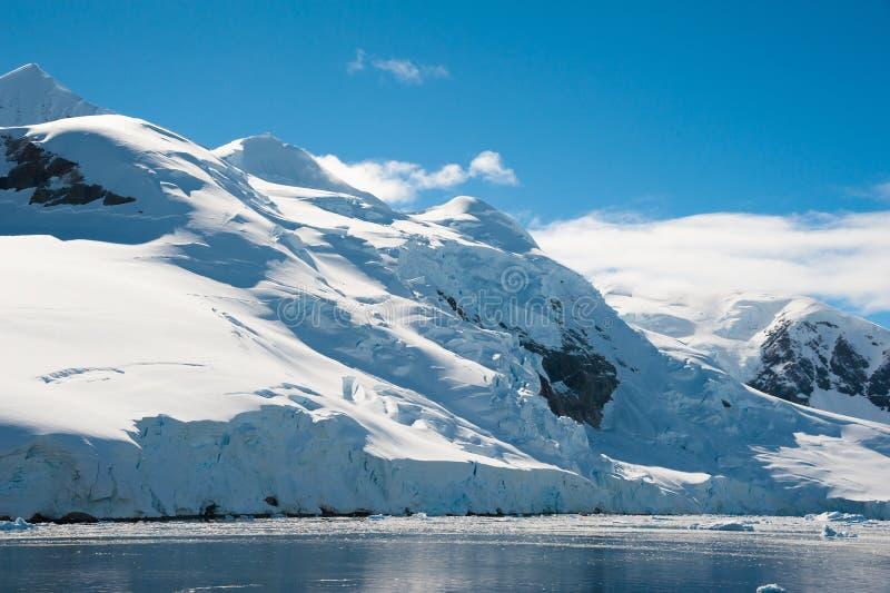 De baai van het paradijs in Antarctica stock fotografie