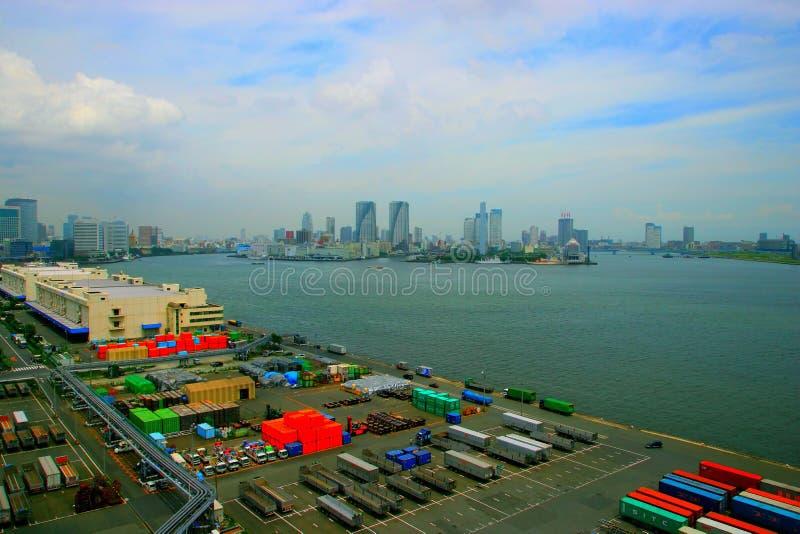 De Baai van Japan, Tokyo stock foto's