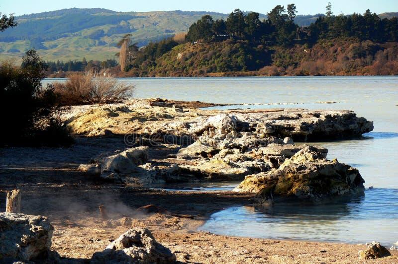 De Baai van Kauanga van Te royalty-vrije stock fotografie