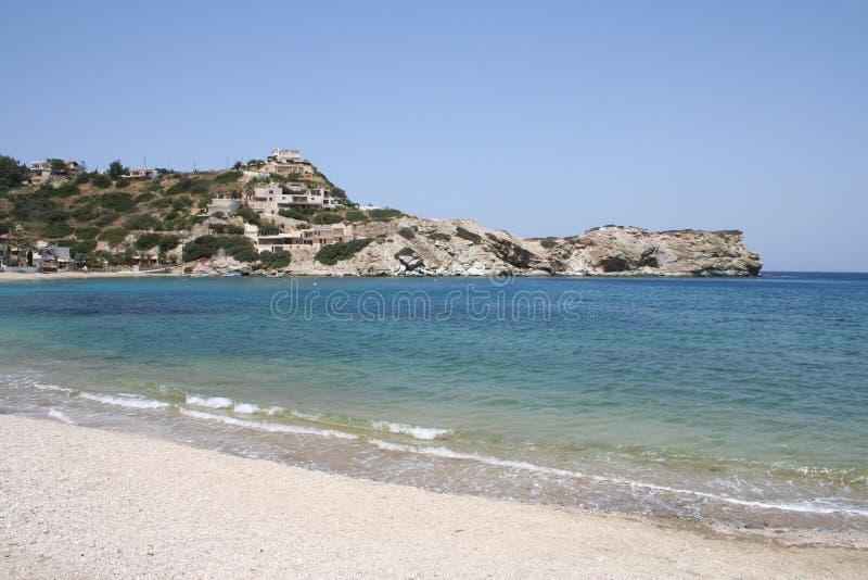 De baai van Kreta royalty-vrije stock foto's