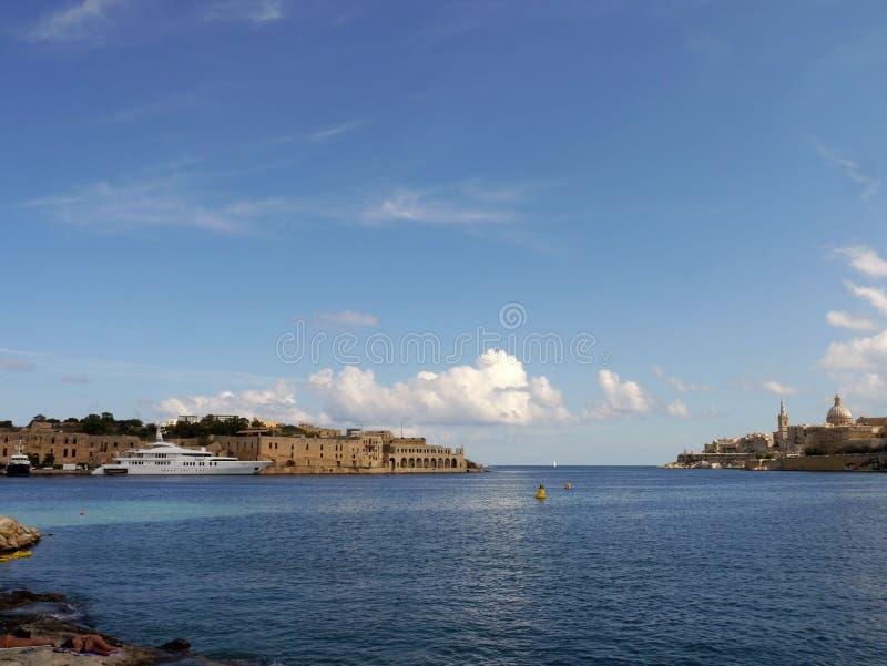 De Baai van Malta stock afbeelding