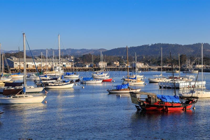 De Baai van Monterey stock foto's