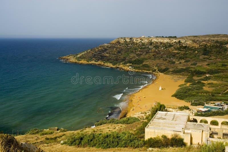 De baai van Ramala - rood zand royalty-vrije stock foto
