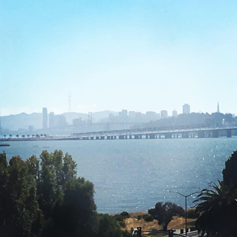 De Baai van San Francisco stock afbeeldingen