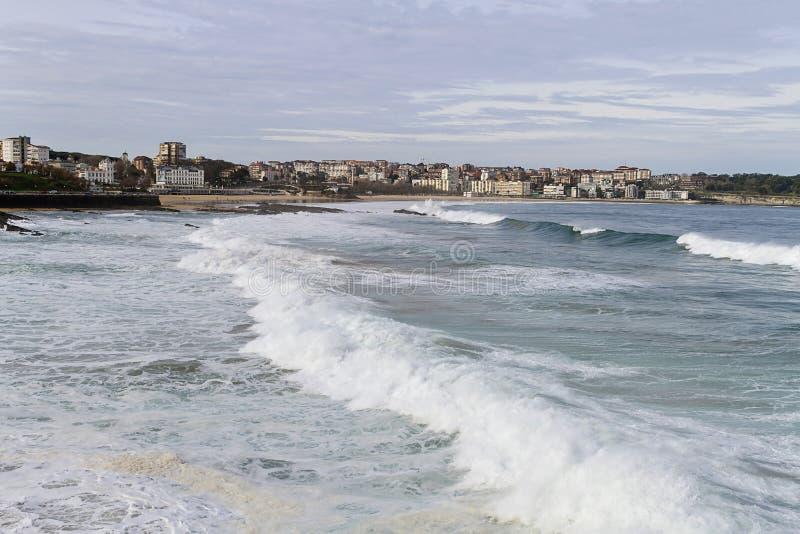 De Baai van Santander stock afbeelding