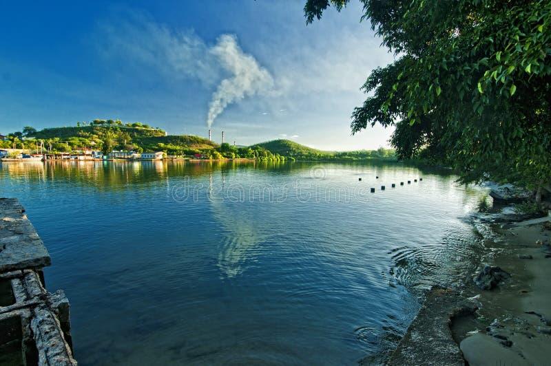 De Baai van Santiago DE Cuba royalty-vrije stock fotografie