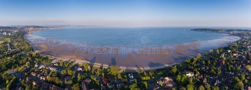 De baai van Swansea stock afbeelding