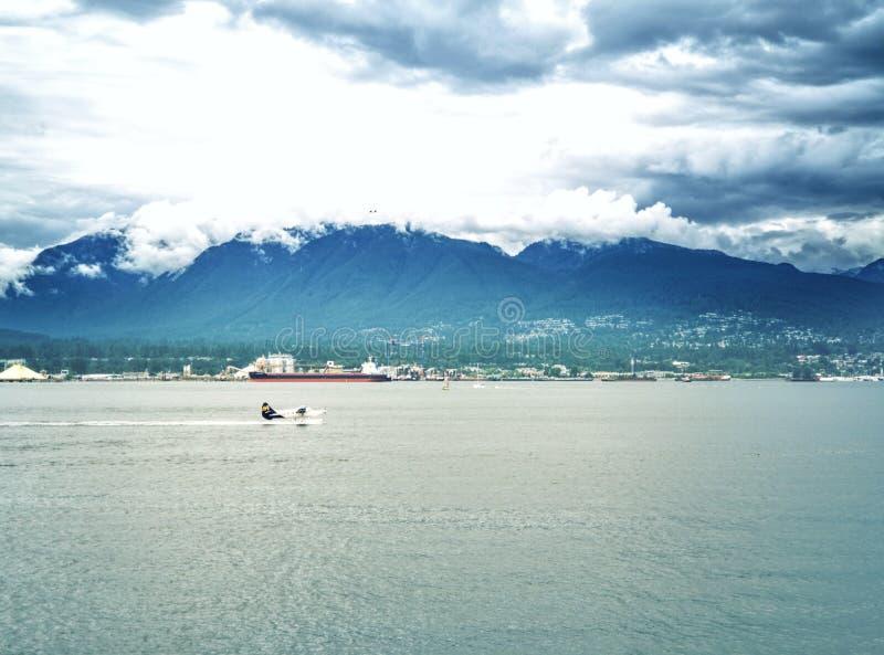 De Baai van Vancouver stock fotografie