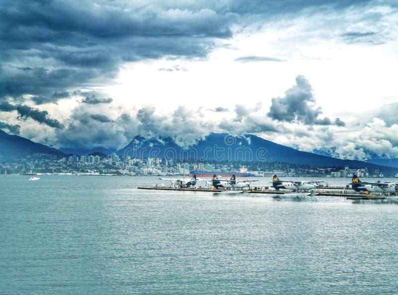 De Baai van Vancouver stock foto's