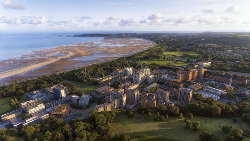 De Baai Zuid-Wales van Swansea royalty-vrije stock foto's