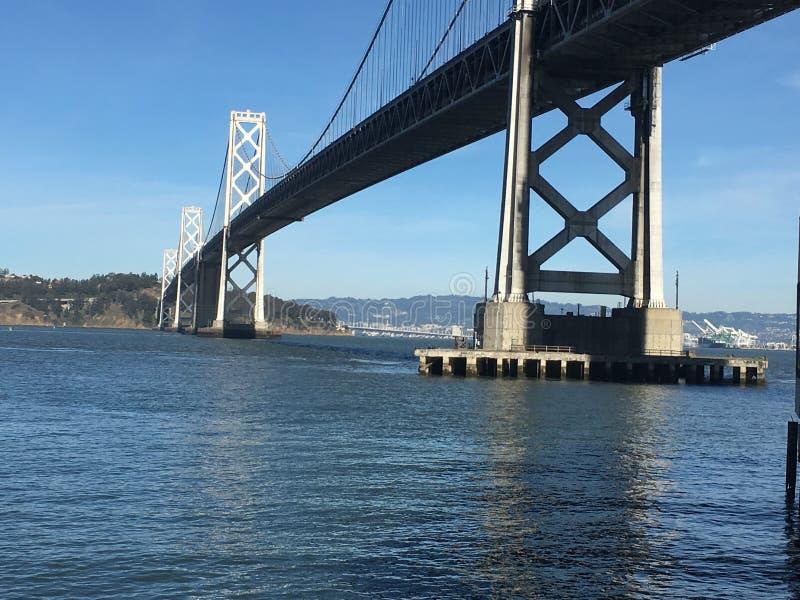 De Baaibrug, van San Francisco in Eiland van Yerba Buena, 1 royalty-vrije stock afbeeldingen