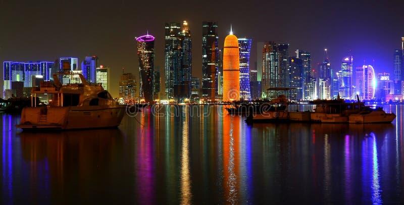 De Baaihorizon van het Dohawesten stock afbeelding