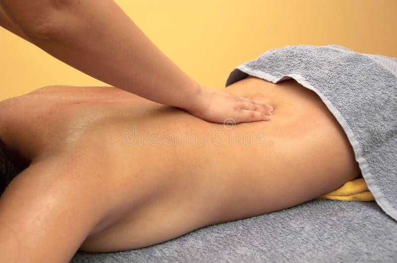 De baan van de massage stock afbeelding