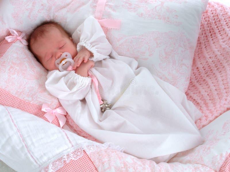 De baby houdt van Fopspeen royalty-vrije stock fotografie