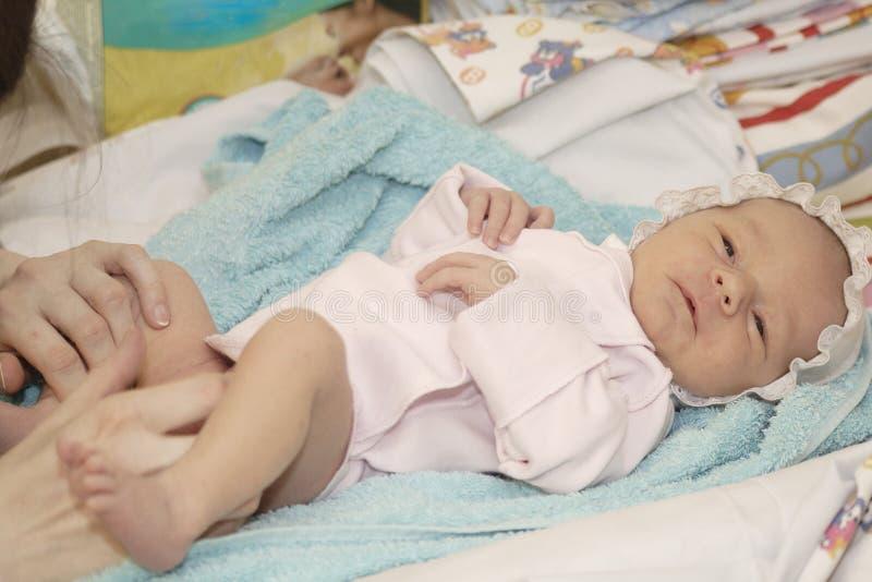De baby met mum. royalty-vrije stock afbeelding