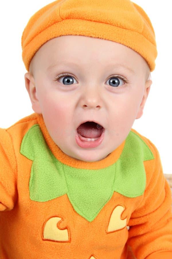 De baby van de pompoen stock afbeeldingen