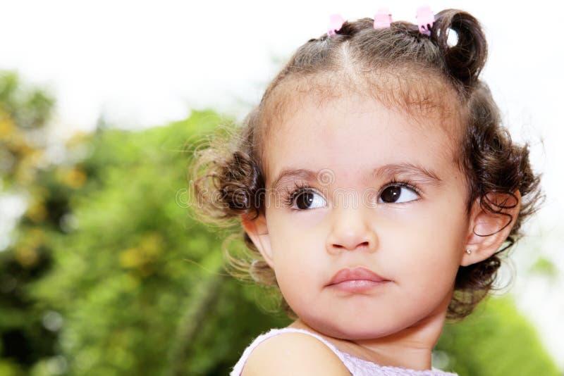 De baby van de schoonheid stock afbeelding