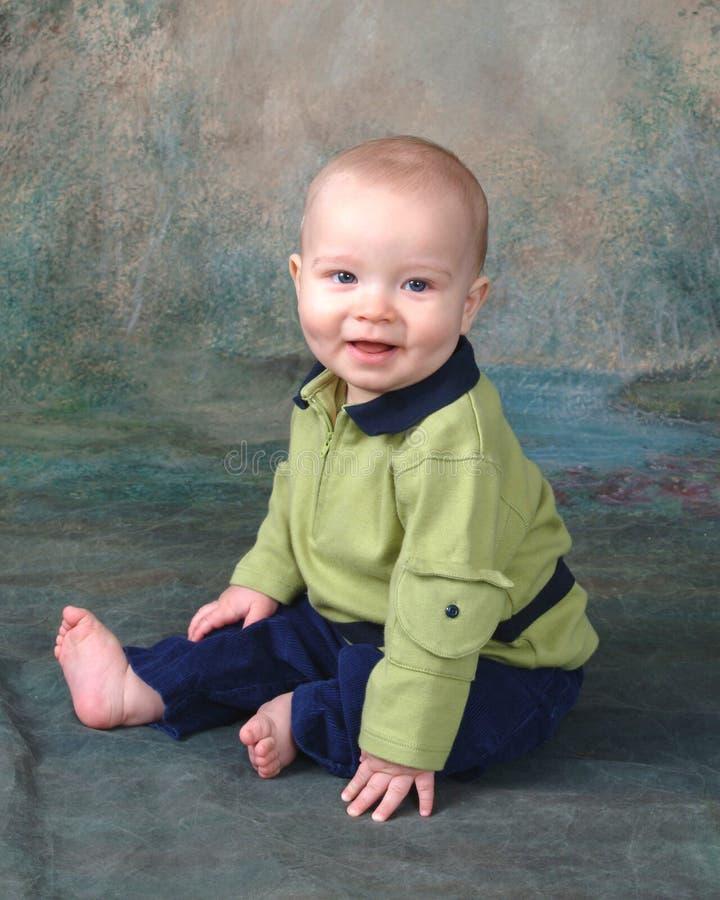 De Baby van de zitting   royalty-vrije stock fotografie