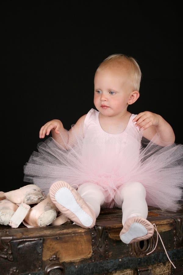 De baby van het ballet stock afbeeldingen