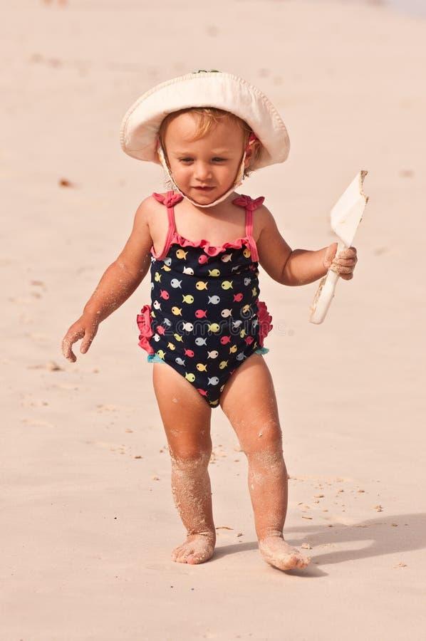 De Baby Van Het Strand Royalty-vrije Stock Foto's