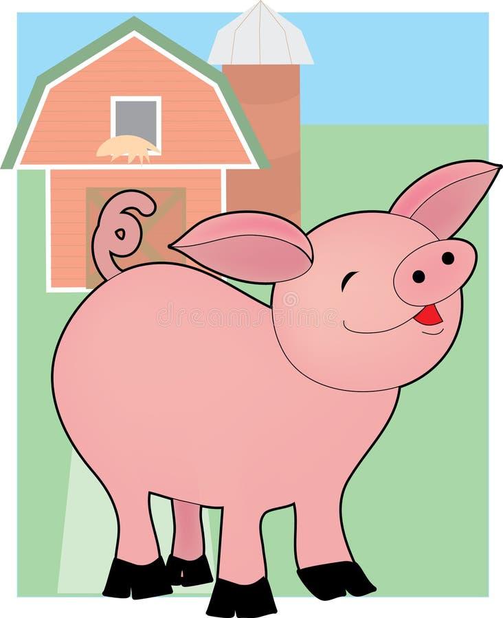 De Baby van het varken vector illustratie