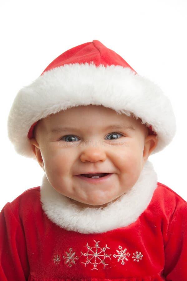 De Baby van Kerstmis stock afbeelding