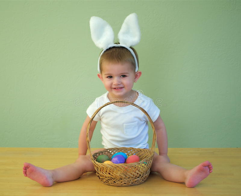 De baby van Pasen stock foto's